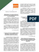 Newsletter Federación Barcelona C's 2007.12.21