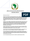 African Nuclear Weapon Free Zone Treaty (ANWFZT)