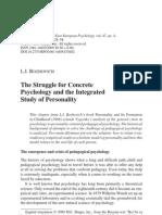 Bojóvitch - A luta pela psicologia concreta e o estudo integrado da personalidade.pdf