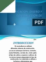 PLANIFICACION, DISEÑO Y CONSTRUCCION DE ESTANQUES