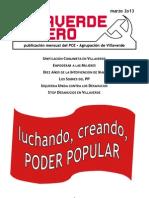 Villaverde Obrero - Número 21 - Marzo 2o13