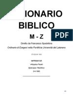 M Z DizionarioBiblico