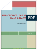 refraction of light at plane surfaces