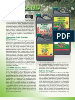 AGGRAND®  Foliar Feeding