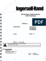 Compresor  Ingersoll rand  Xp750wcu