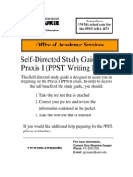 Ppst Writing Study Guide 07-20-2010