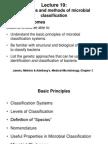 Mic 251 Lecture 19 Principlesmethodsclassification