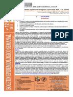 Boletín Semana Epidemiológica 12-2013