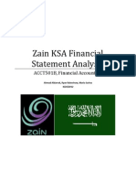 Zain Analysis Report