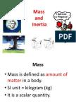 2.3 Mass and Inertia
