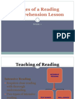 stages in a reading lesson plan