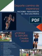 Deporte FACTORES FISIOLOGICOS