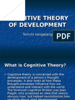 Cognitive Theory of Development Final