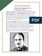 Biograia de Jose Maria Arguedas