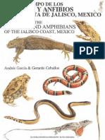 Reptiles y Anfibios de Jalisco