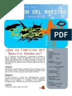 Boletin Comisión del Maestro Enero - Febrero 2013