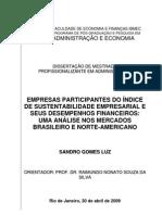EMPRESAS PARTICIPANTES DO ÍNDICE DE SUSTENTABILIDADE