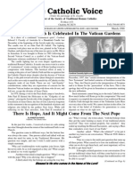 Catholic Voice (Traditionalist)--March 1998