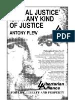 Flew on Social Justice