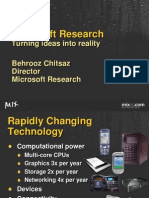 Microsoft Research - Turning Ideas into Reality