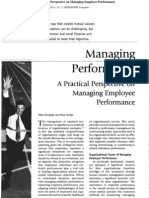 1.Managing Performance a Practical Perspective on Managing Employee Performance