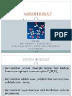 Kimia Organik 2.6 - Karbohidrat