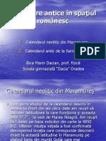 Calendare Antice in Spatiul Romanesc