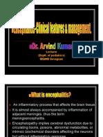 Encephalitis Power Point By Dr Arvind Kumar