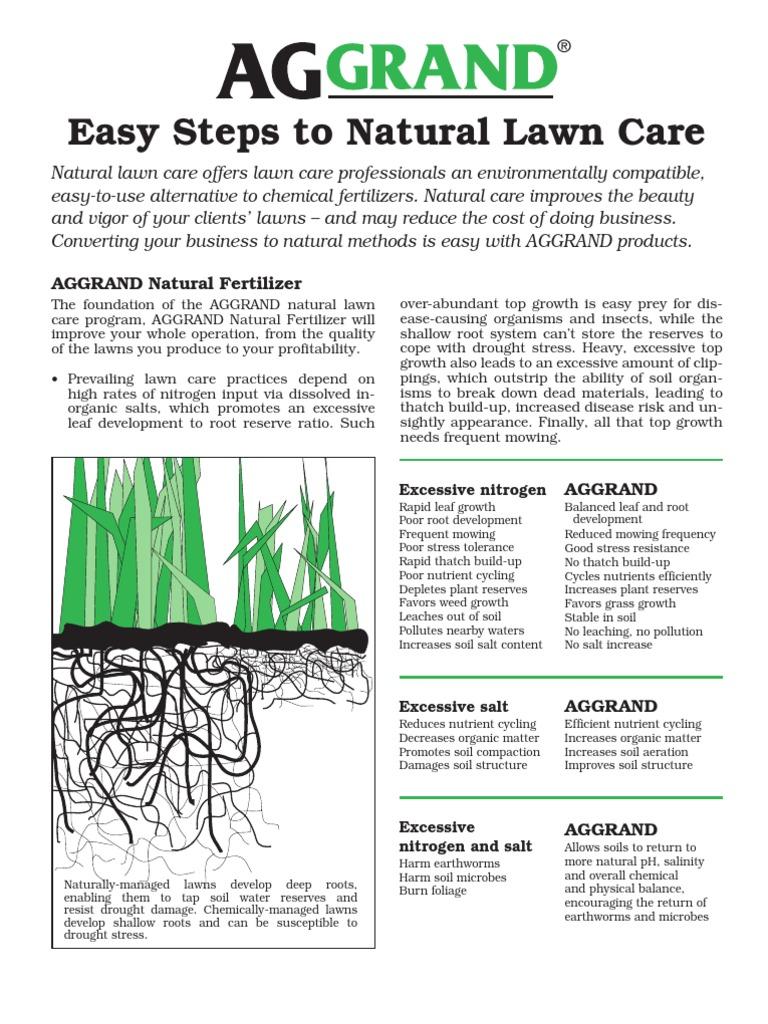 AGGRAND® Natural Lawn Care   Lawn   Fertilizer