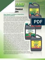AGGRAND® Organic vs Chemical Lawn Care