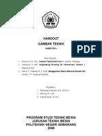 Handout Gambar Teknik Smt.1