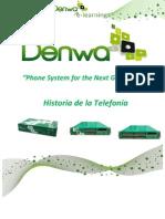 PROGRAMA DeEBP - Historia de la Telefonía
