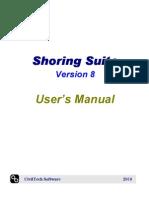 manual shoring program