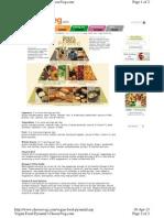 Veg Food Nutrition - Food Pyramid