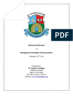SXC National Conference Brochure