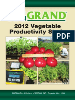 AGGRAND® 2012 Vegetable Productivity Study