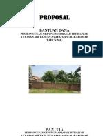 Proposal Pembangunan Sekolah Madrasah Ibtida'iyah