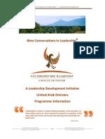 UAE - Nine Conversations Program Information for UAE