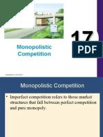 17.Monopolistic Competition