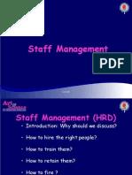 Staff Manage