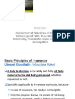 IRM - Fundamental Principles of Insurance
