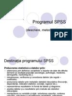 Programul SPSS
