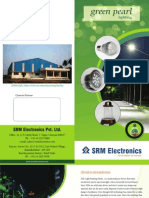 SRM GreenPearls LED Brochure