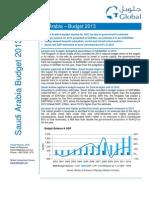 KSA Budget 2013