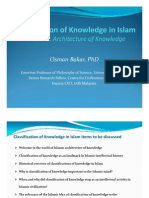 O-Bakar_classification of Knowledge in Islam