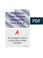AchieveYourDreams in A-Z