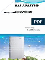 Refrigerator Sectoral Analysis