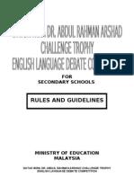 Rules of Parliamentary Debate in Malaysia