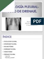 Sesion Patologia Pleural-tubo de Drenaje