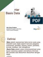 Materi Basis Data